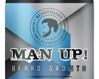 "Beard Daddy MAN UP! Beard Growth Supplement- Advanced Facial Growth Supplement ""Fear The Daddy Beard"""