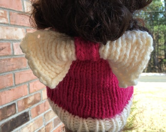 Bun/Ponytail Beanie with Bow