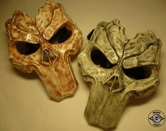 Inspired Death Mask Darksiders 2, Darksiders Mask, Handmade Prop Replica, Cosplay, Costume, Video Game, Halloween Horror Mask.