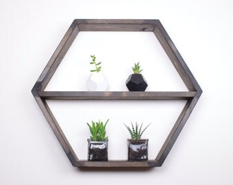 Hexagon Shelf, Honeycomb shelf, Honeycomb shelves, Hexagon Shelves, Geodesic Shelves, Geometric Shelves, Floating shelves, floating shelf