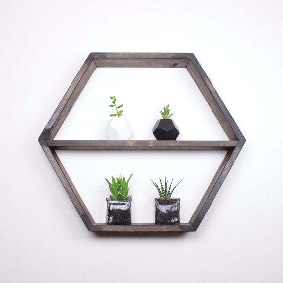 Hexagon Shelf Honeycomb Shelf Honeycomb Shelves Hexagon