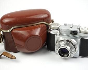 Beier Beirette (1963) Camera with Meyer Trioplan 45mm f/3.5 Lens