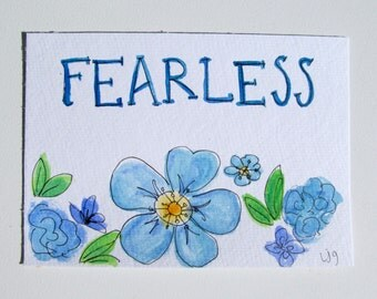 Fearless 5x7
