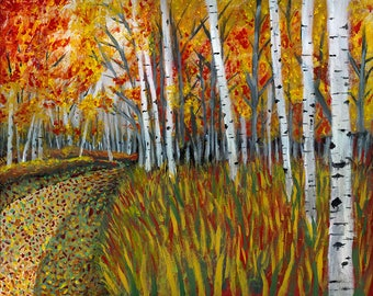 Path - Acrylic Painting on Canvas