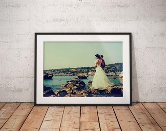 Instagram Filter X Pro II Framed Fine Art Print Anniversary Print Wedding Fine Art Print Giclee Print Custom Wedding Print Artistic Print