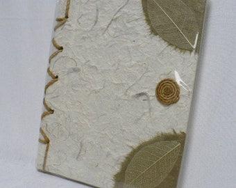 Handmade journal, handmade paper, decorate handmade journal