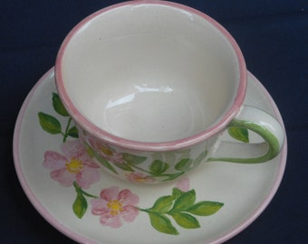 Hand painted mug, cup
