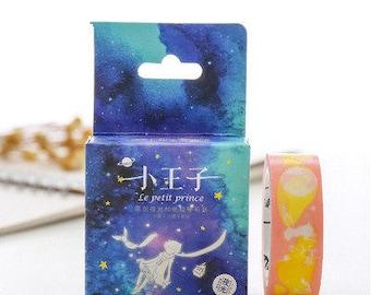 Little Prince Luminous Washi Tape,Masking Tape, Little Prince,Planner Sticker,Night Light, Decorative Tape, Sticker, 15mm*10m