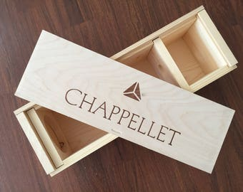 Chappellet Estate Wooden Wine Box
