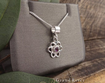 Triple Infinity Necklace