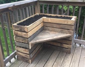 Flower Box Bench