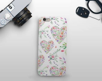 Floral Heart Phone Case