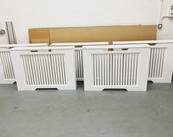 Bespoke made radiator cover finished