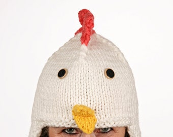 Pet-unique-funny winter hat in chicken