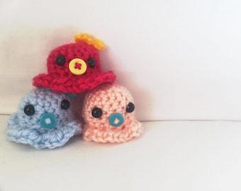Kawaii Crochet Little Octopus