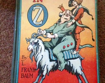 RINKI TINK of OZ by L. Frank Baum, 1915