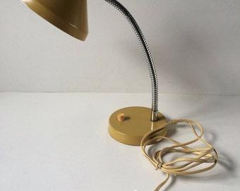 Bauhaus Lamp, Bakelite Lamp, Desk Lamp, Gooseneck Lamp, Table Lamp, Art Deco Lamp, Vintage Lamp, Industrial Lamp, Industrail Lighting