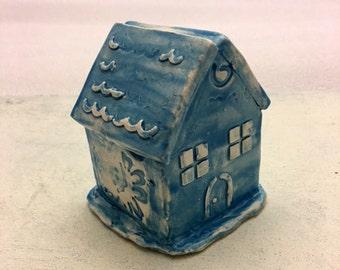 Miniature Blue House