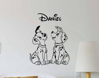Dog Puppy Wall Art Etsy - Custom vinyl wall decals dogs