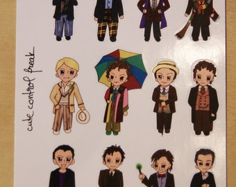 Deco sheet from the Doctor who kit