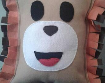 Lion Pillow Plushie safari nursery