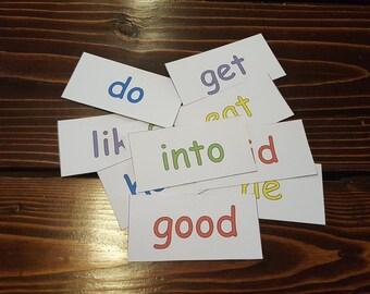 Printable Kindergarten Sight Words Magnets