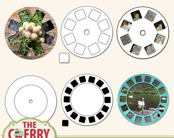 Photo Reel Scrapbooking Templates