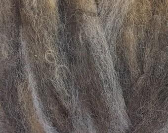 Alpaca Roving - Silver Grey .25 oz