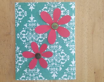 Pink Flower Blank Card