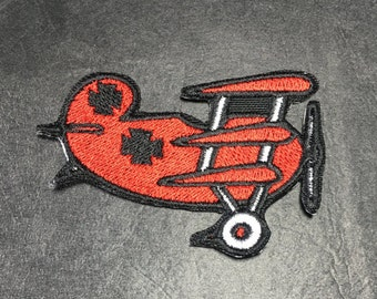 Snoopy Red Baron Plane Patch