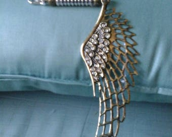 Steampunk Lapel Winged Pin for Men or Women