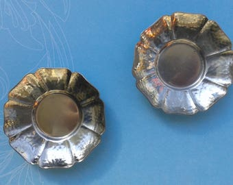 G Sola Z, 2 small bowls, hammered