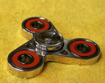 Tri-Bearing Spinner 100% Ceramic Bearing  *Made in OREGON* SATIN FINISH!!!!!!!! not polished