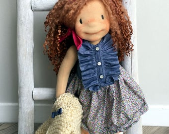 Janice  -  Natural Fiber Doll