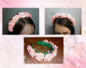 "Ободок ""Flowers for girls"""