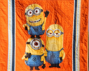 Minions Quilt - Handmade - Minions Panel
