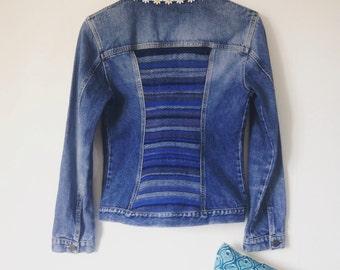 Monofilament and British Wool Back Jacket