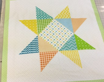 Receiving Blanket Panel - Flannel Material - Easy Sewing Project - Baby Shower Gift - DIY