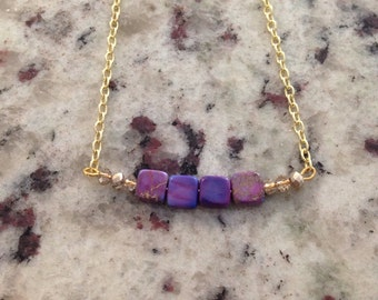 Purple and gold love