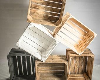 Caisses en bois livraison offerte
