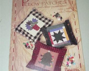 Vintage Pillow Patches Nancy Smith Lynda Milligan Pattern Booklet 12806
