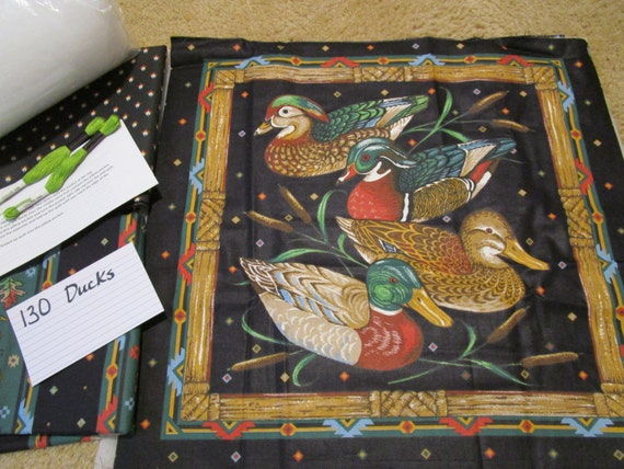 Duck Decoy - Pillow Quilt Kit