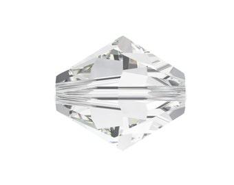 50 Pcs Swarovski® 5328 5mm XILION Bead in Crystal 001