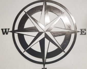 Weather Vane/ Nautical Star - Plasma Art