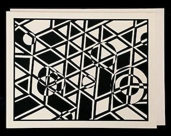 Original Art Card - Geometrics
