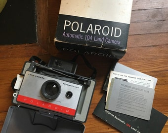 Polaroid Automatic 104 Land Camera : Mint