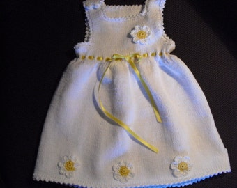 Christening gown, white