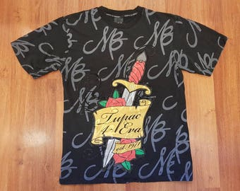 Makaveli Shirt, Tupac Shirt, 90s Makaveli Shirt Size XL