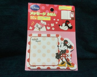 minnie mouse Sticky Notes from japan
