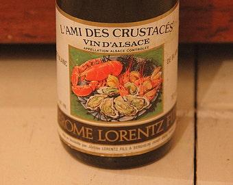 Vintage White Wine: L'Ami des Crustacés, Alsace